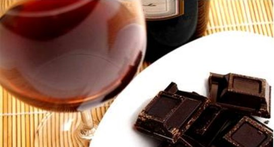 Chocolate & Wine for Dessert